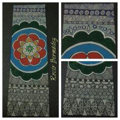 Separador de libro artesanal // Handmade bookmark. By Rocío Bermúdez