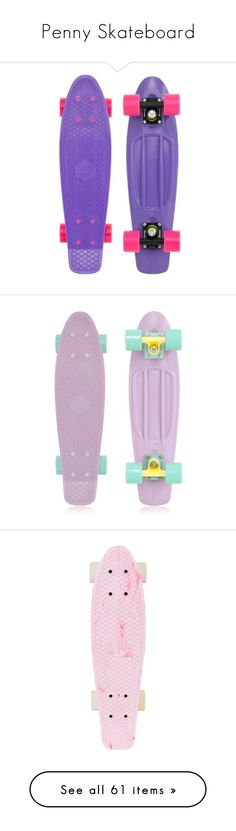 """Penny Skateboard"" by starwars3340 ❤ liked on Polyvore featuring skateboards, penny boards, accessories, other, skate, fillers, quotes, phrase, saying and scribble Penny Board Outfit, Cute Christmas Gifts, Wishlist Christmas, Long Skate, Penny Skateboard, Things To Buy, Stuff To Buy, Skater Girls, My Ride"