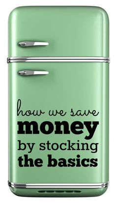 How we save money by stocking the basics: Tips on how to build a money-saving pantry, refrigerator, and freezer! save money on food frugal meal ideas, meal planning tips and budget recipes! Ways To Save Money, Money Tips, Money Saving Tips, How To Make Money, Managing Money, Saving Time, Space Saving, Frugal Living Nw, Planning Budget