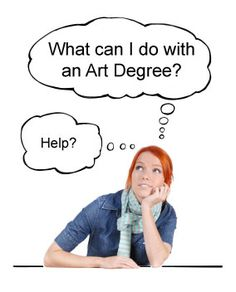 Kinder Art: for Webelos Artist requirement 1 - occupations in the field of art - & Can You Do With An Art Degree? High School Art, Middle School Art, Programme D'art, Art Doodle, Art Careers, Classe D'art, Importance Of Art, Jobs In Art, Nerd