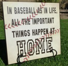 ~Thanks for visiting my ETSY shop~    12 x 12 wood board.  Baseball paper      Comes with hook on the back for easy display.    Inspirational