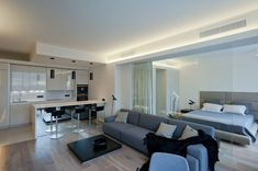 The Open Plan Apartment Separated Only with Glass Panels Stories cool The End of Open Plan Apartment Separated Only with Glass Panels Interior design is now the topic of television shows. It has also become the subject o.