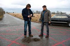 Sam y Dean cruce de caminos