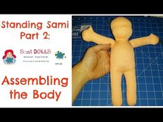 How to make a cloth doll/ Waldorf Doll: Assembling the body - YouTube