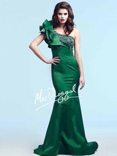 Emerald Evening Gown   Mac Duggal 78885Y
