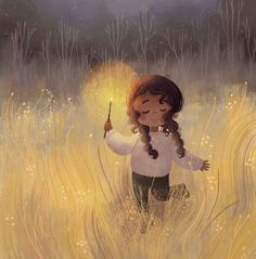 You light up my life art pictures, children's book illustration, landscape Art And Illustration, Animal Illustrations, Illustrations Posters, Mode Poster, Dibujos Cute, Cute Cartoon Wallpapers, Whimsical Art, Anime Art Girl, Cute Drawings