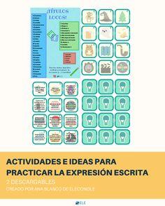 NUEVO POST ¡Ana Blanco de @ELEconOLE nos ha dejado ideas y descargables para practicar la expresión escrita!  http://www.eleinternacional.com/expresion-escrita-en-clase-de-ele/ ¡Entra en el blog para descargarlos!