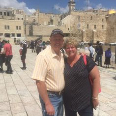 Fam.Stark touring Jerusalem in a Privatetour with our Tour Guide Moti Hefrati.