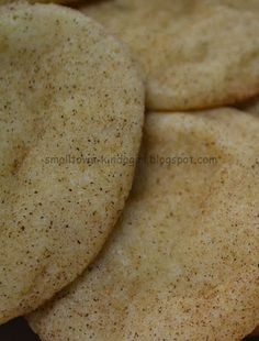 Country Girl At Heart: Snickerdoodle Cookie Recipe
