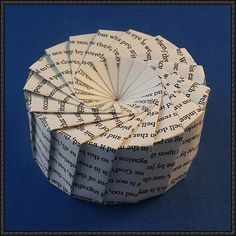 Seven and Seventeen-Sided Box Origami
