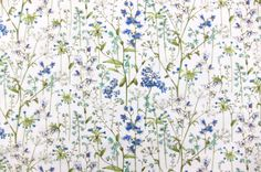Liberty of London Cotton Lawn Print Pattern Art, Print Patterns, Flax Plant, Liberty Art Fabrics, Liberty Of London, Vintage Paper, Watercolor Illustration, Art Pictures, Flower Patterns