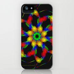 Fractal iPhone Case by Marisa Lopez-Cruzan - $35.00