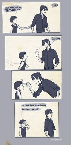 aww! This is so sweet to think of, even though they've got the age gap wrong...  sirius and regulus <3
