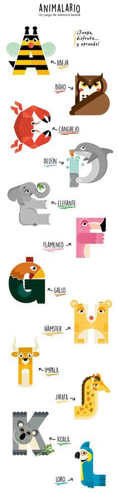 ANIMALARIO - Animal Alphabet on Behance