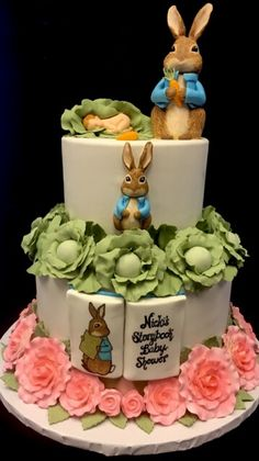 Peter Rabbit Cake Peter Rabbit Cake, Scones, Food Network Recipes, A Food, Muffins, Bakery, Birthday Cake, Future, Eat