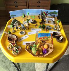 Handa's Surprise Eyfs Activities, Nursery Activities, Educational Activities, Activities For Kids, Meerkat Mail, Handas Surprise, Harmony Day, Rumble In The Jungle, Tuff Spot