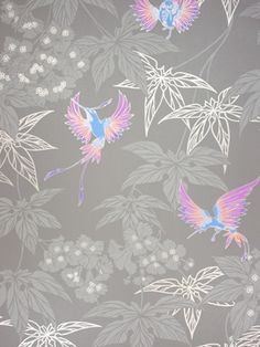 Papel Pintado Osborne & Little Grove Garden W5603-06 . Disponible online en Modacasa.es