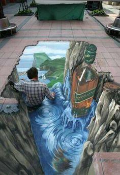 Street Art... 3D art