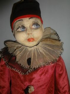 Antique 1920 Pierrot Doll | eBay | PIERROT