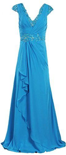 ANTS Women's Cap Sleeve Mother of the Bride Dresses Long Wedding Party Dress Size 14 US Blue ANTS http://www.amazon.com/dp/B00NXCKW50/ref=cm_sw_r_pi_dp_S7nbvb1RE455M