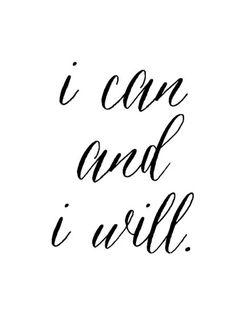 i can and i will @inshaalkhizar.