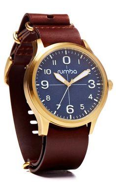 Brooklyn Chocolate Watch