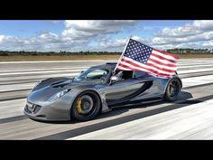 【動画】ヘネシー「ヴェノムGT」が市販車世界最速記録を更新