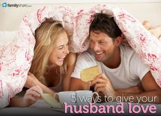 5 ways to give your husband love