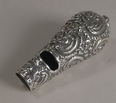 Antique English Sterling Silver Whistle by George Unite - circa. 1877