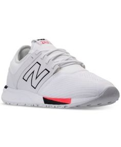 New Balance Men's 247 Casual Sneakers from Finish Line - WHITE/BLACK 10.5