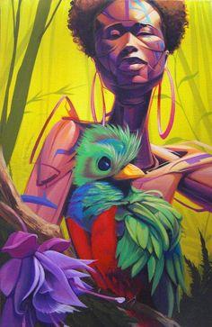 fuckyeablackart:  Quetzal by ~StevenLopez