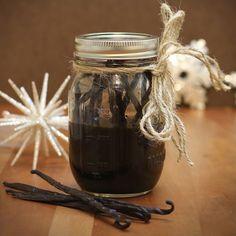 How To Make Vanilla Extract | Budget friendly organic whole bean vanilla | TakeCareOrganics.com