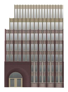 Caruso St John Architects Proposal for Bremer Landesbank, Bremen Germany, ongoing