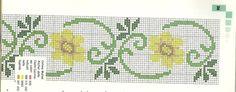 Gallery.ru / Фото #42 - borders-barrados px - nandauromi Cross Stitch Boarders, Cross Stitch Flowers, Cross Stitch Designs, Cross Stitch Patterns, Tapestry Crochet, Bargello, Book Making, Loom Beading, Embroidery Stitches
