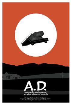 An ET inspired Arrested Development Poster