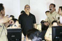 Nana Patekar as Rakesh Maria, Joint Commissioner of Police (Crime).