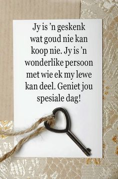Verjaardag wense Birthday Wishes For Men, Birthday Qoutes, Happy Birthday Husband, Birthday For Him, Birthday Greetings, Birthday Cards, Friendship Wishes, Friendship Quotes, Afrikaanse Quotes