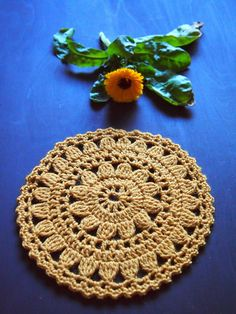 omⒶ KOPPA: Yellow Flower circle