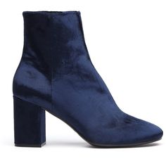 Balenciaga Velvet Ankle Boots ($975) ❤ liked on Polyvore featuring shoes, boots, ankle booties, ankle boots, balenciaga, velvet booties, ankle bootie boots and balenciaga booties