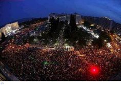 People at Syntagma square on Sunday 12/02/12
