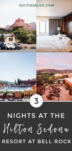 Staying at the Hilton Sedona Resort at Bell Rock Arizona Spa, Arizona Resorts, Arizona Travel, Sedona Arizona, Florida Travel, Travel Usa, Sedona Spa, Sedona Resort, Grand Canyon Vacation