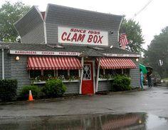 The Clam Box, Ipswich, Massachusetts.