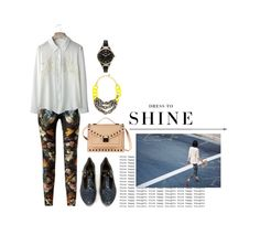 """""""think happy thoughts"""" by misspamplemousse ❤ liked on Polyvore"""