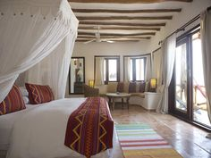 Casa Sandra is amongst some of the small hotels in Holbox Island.