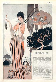Fantasio  1914  Illustration by Umberto Brunelleschi