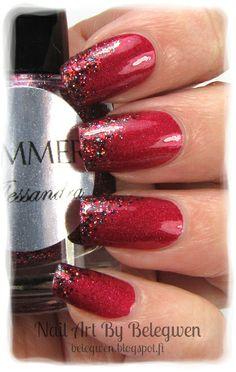 Nail Art by Belegwen: Shimmer Polish: Alessandra