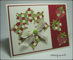 Christmas Mosaic Madness by lhs43 - Cards and Paper Crafts at Splitcoaststampers