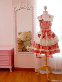 Cute apron style dress