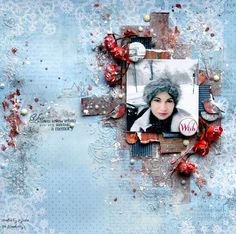 13 pasji by Ayeeda: Wish - winter layout with Scapberry's
