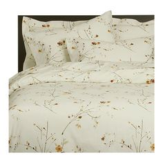 Sakura Bed Linens from Crate & Barrel - This has been my bedding for 3 years and I still love it.